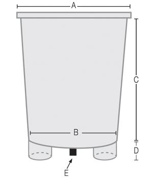 Fiberglass Larval Tank