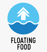 Floating Food
