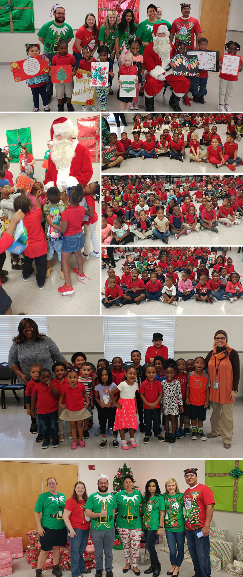 Pentair Foundation Annual Holiday Gift Giving Event