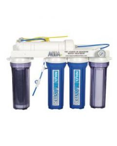R/O DI System, 4-Stage, 50 gpd + Chloramine Blaster