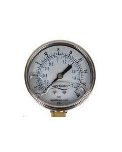 Liquid Filled Pressure Gauge 0-30 PSI