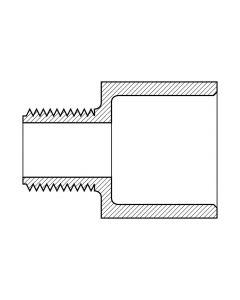 Male Adapter Reducing (MNPT x Slip)