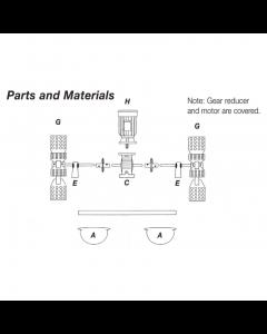 Paddlewheel Aerators Replacement Parts