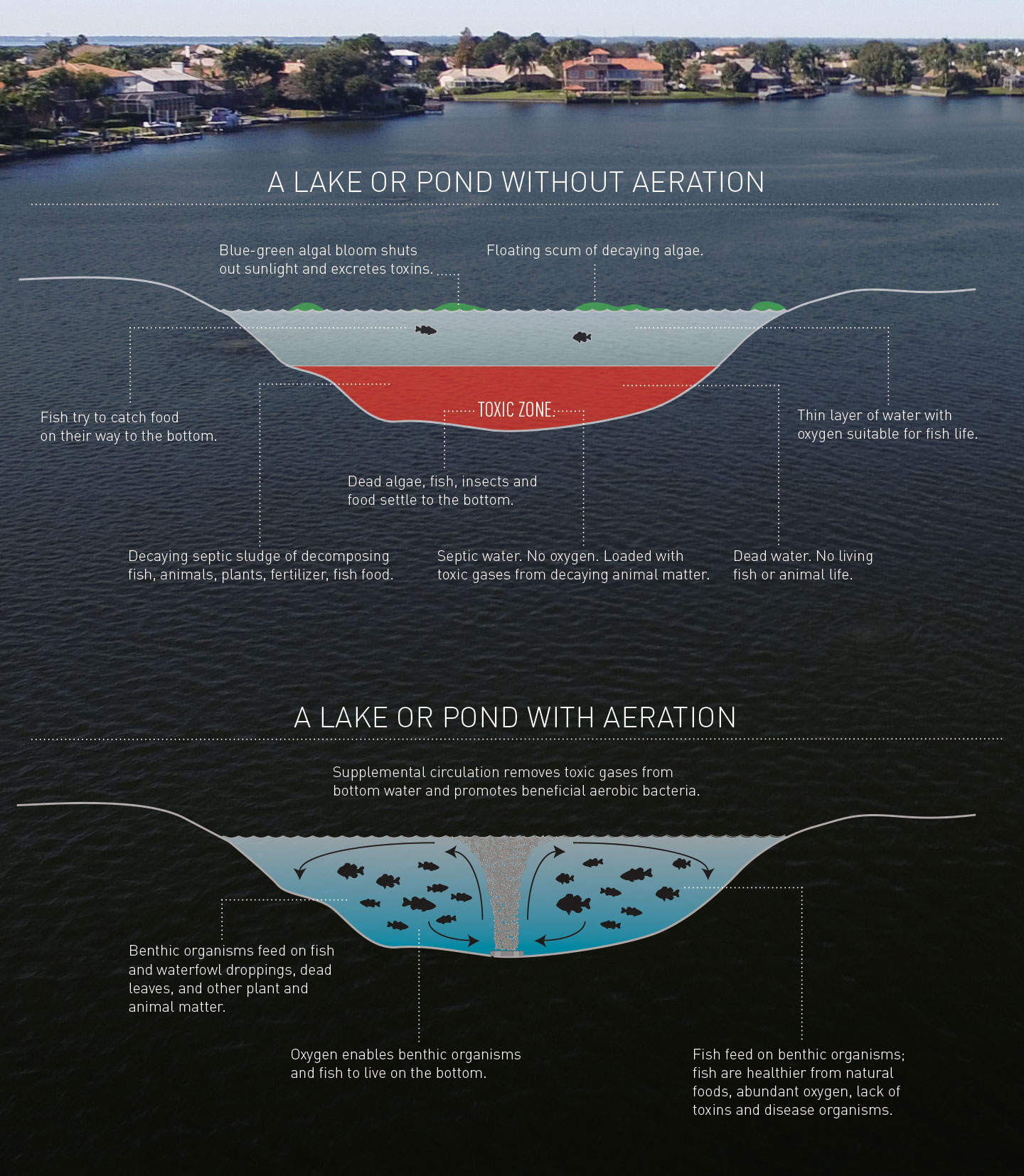 How Lake Aeration Works