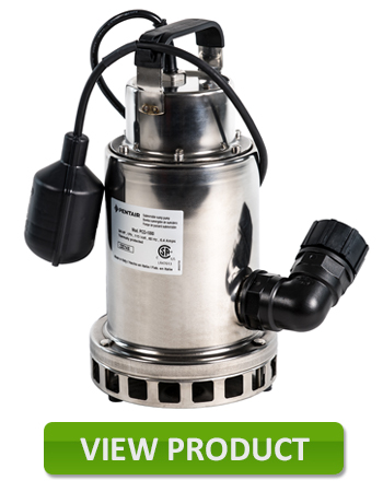 Superior Stainless Steel, Submersible Pump, 3/4 Hp