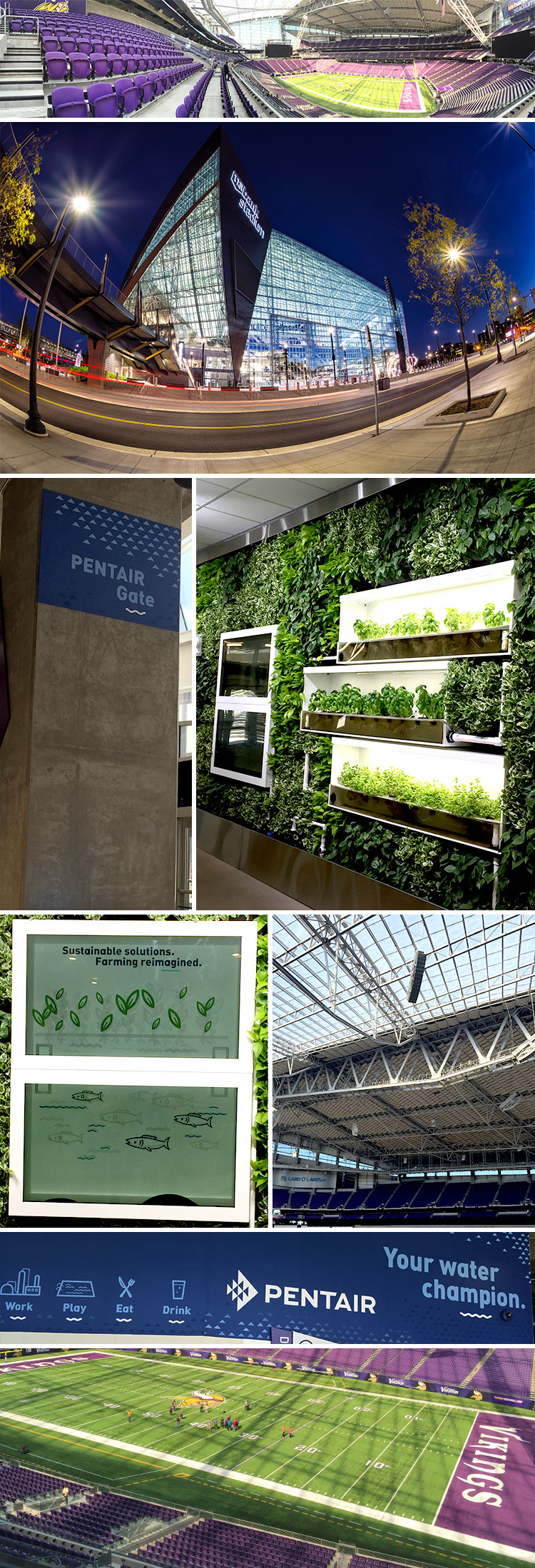 Pentair Living Wall