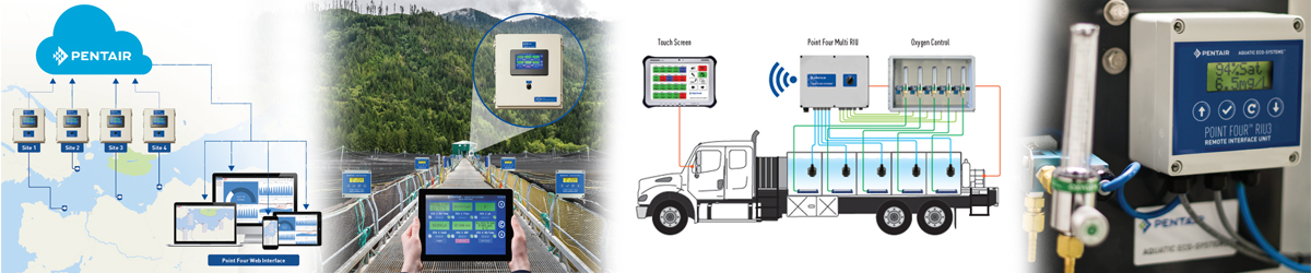 Pentair Aquatic Eco-Systems Point Four™ Monitors & Controllers