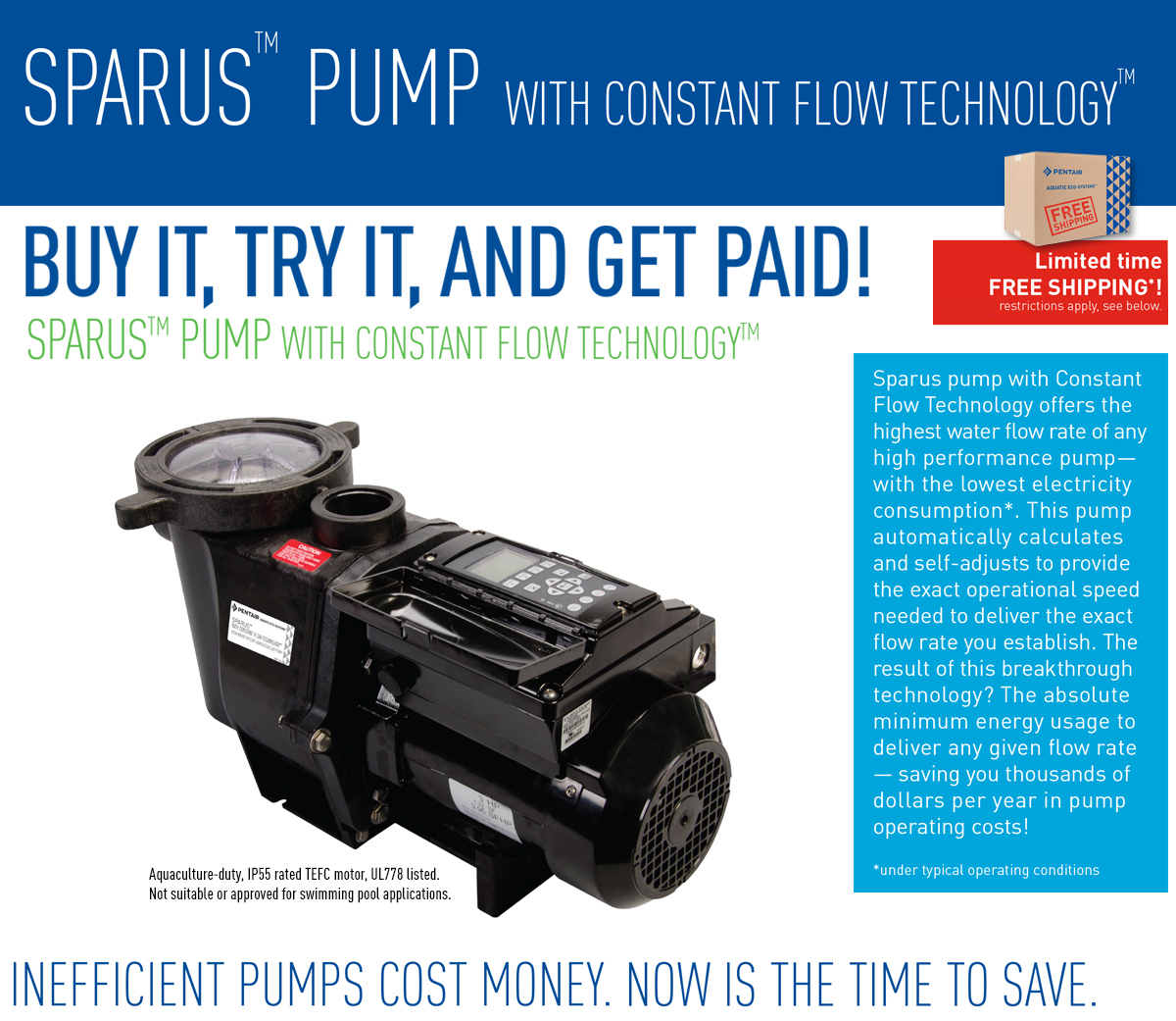 Sparus Pump with Constant Flow Technology